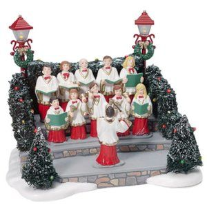 "Department 56 Village Animated ""Holiday Singers"""